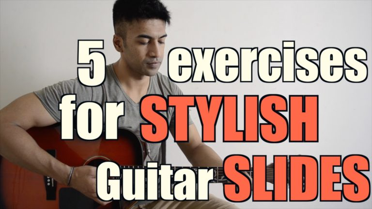5 Exercises to make your Guitar Playing STYLISH with SLIDES
