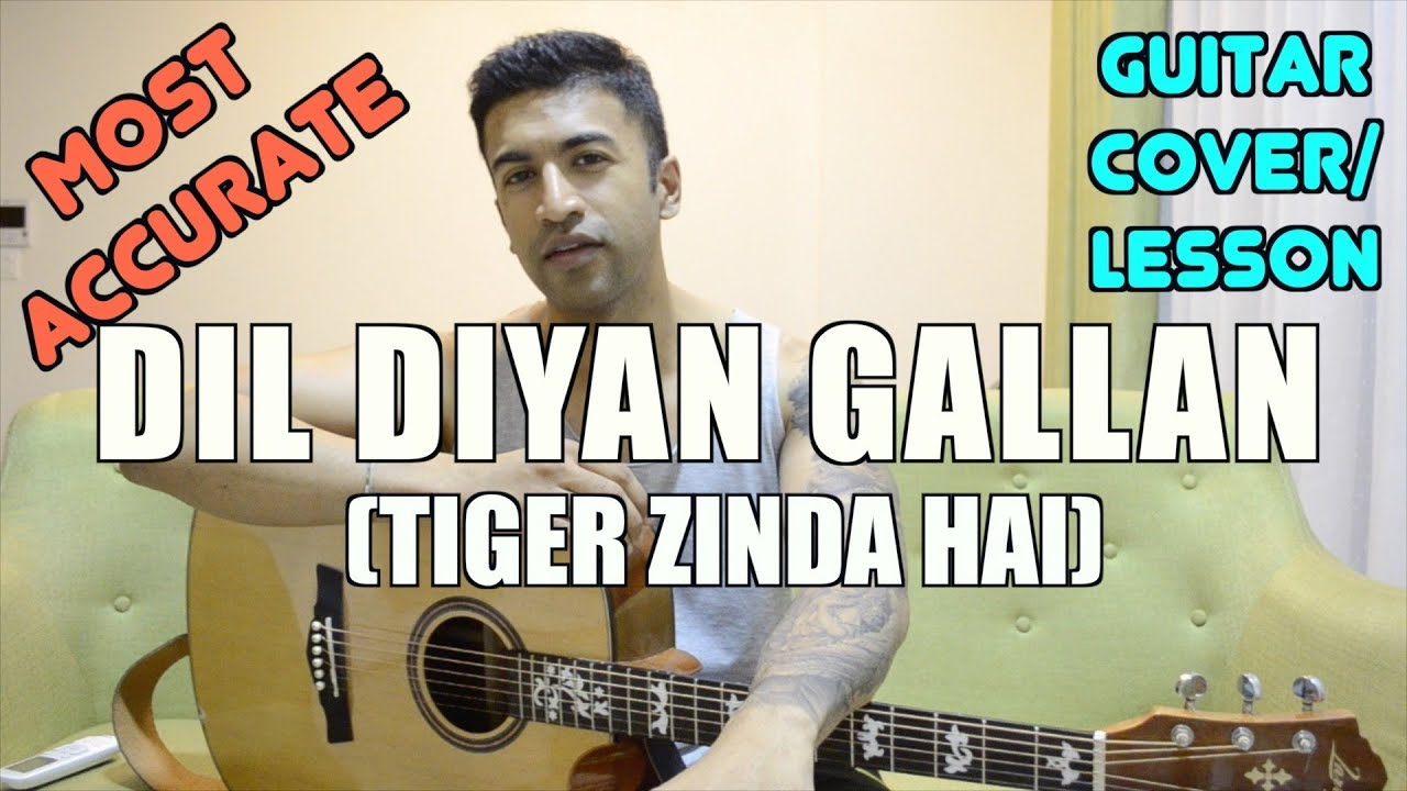 dil diyan gallan chords with capo