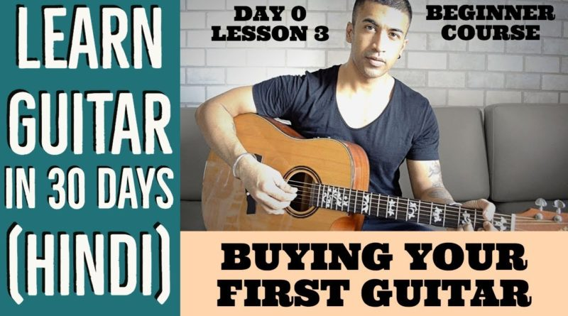 Beginner Guide To Buying Your First Guitar