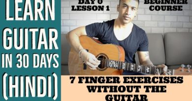 7 Finger Exercises Without The Guitar
