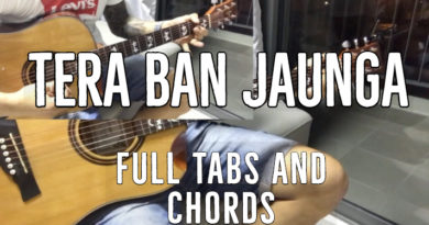 tera ban jaunga guitar chords