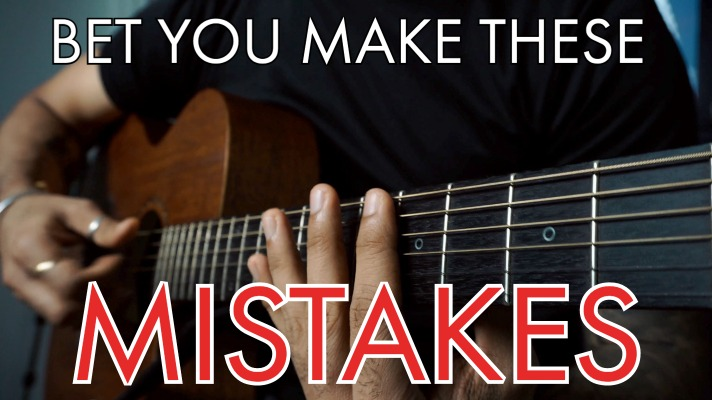 Even Advanced Guitarists Makes these 3 MISTAKES with Natural Harmonics